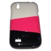Трицветен калъф за HTC T328w Desire V 001