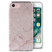 Puro Marble Cover (iPhone 8/7/6/6S) - Vit