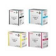 Canon EXV-21 Pack toners 4 colores