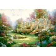 Puzzles , Rompecabezas Spring Garden, 49x72 cm, 2000 Piezas