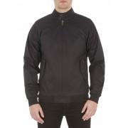 Ben Sherman Main Line Black Cotton Harrington Jacket Small TBL True Black