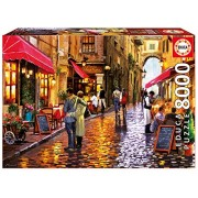 Educa Children's 8000 Café Street Puzzle (Piece)