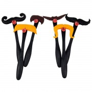 Kids Boy/Girl Moustaches Match Moustache Smash Funny Mustache Pass Card Children Family Game Toy