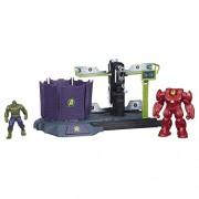 Avengers HQ Hulk Buster Breakout Set, Multi Color