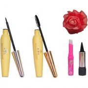 ADS Eyeliner Mascara kajal Pink Lip and Band