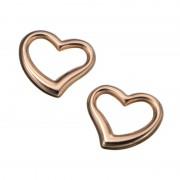 18K ハート ホロー デザイン チャーム【QVC】40代・50代レディースファッション