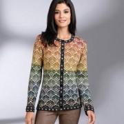 14-Colours Alpaca Cardigan, 10 - Colourful Pattern