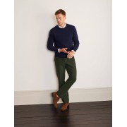 Boden Pantalon Lothbury en velours de coton GRN Homme Boden, Green - 30 32in