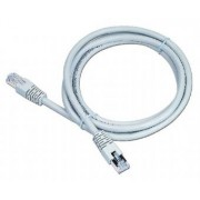 Cablu UTP Patch cord cat. 6, conectori 2x 8P8C, lungime cablu: 7.5m, ecranat, mufe turnate, bulk, Alb, GEMBIRD (PP6-7.5M)