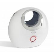 Umidificator cu ultrasunete ARGO OBLO, Consum redus de energie, 200ml/h, Rezervor 3l, Ionizare, Dispozitiv de arome, Filtru de carbon activ, Filtru cu schimb de ioni