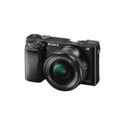 Sony Alpha a6000 16-50mm Mirrorless Digital Camera Black fotoaparat objektiv lens ILCE-6000LB.CEC