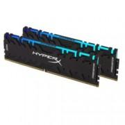 16GB DDR4 3200MHz, Kingston HyperX Predator RGB (2x8GB), HX432C16PB3AK2/16, 1.35V
