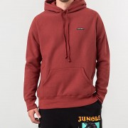 Raised by Wolves PVC Logo Hoodie Congo Red