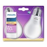 Philips Led lamp 7W - E27 - A60 - Led set van 2 929001243031