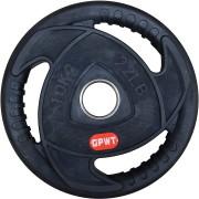 Диск за щанга гумиран Ø50 мм. 10 кг. с метален пръстен