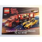 "INSTRUCTION MANUALS for Lego Racers Set #8160 ""Cruncher Block & Racer X"""
