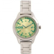 Fastrack Analog Green Round Women's Watch-6129SM02