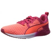 Puma Women's Pulse Xt Core Wns Fluo Peach, Rose Red and White Running Shoes - 4 UK/India (37 EU)