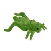 Merkloos Pluche sprinkhaan knuffeltje 26 cm