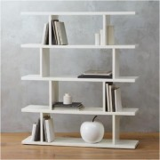 3.14 white bookcase by CB2