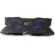 Nedis Koeler voor Gaming-Notebook 4 USB-Gevoede Ventilatoren 15 - 19 USB-Hub