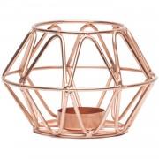 Candleholder Cozy Copper - Decoratie