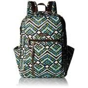 Vera Bradley Women's Grand Backpack Cotton, Rain Forest