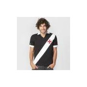 Camisa Retrô Vasco Expresso Da Vitória Masculina - Masculino Preto