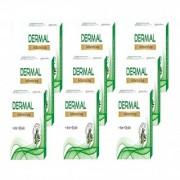 Biotrex Dermal Antibacterial Anti-aging Bath Soap - Protect skin from Sun damage Pack of 9