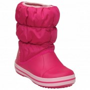 Crocs - Winter Puff Boot Kids - Chaussures d'hiver taille J2, rose