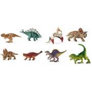 Schleich Mini Dinosaur Set - 8 Styles: Includes Pentaceratops, Tyrannosaurus, Spinosaurus, Saichania