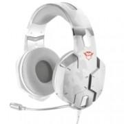 Слушалки Trust GXT 322W, микрофон, гейминг, USB, бял (камуфлаж)