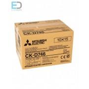 Mitsubishi CK-D746 10 x 15cm ( 2 x 400/800 prints ) Media Set