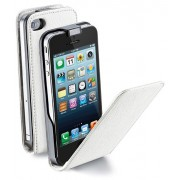 Flap Essential за iPhone 5/5S бял Cellular line