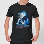 Avengers: Endgame Hulk Suit heren t-shirt - Zwart - S - Zwart