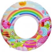 Colac gonflabil pentru copii - Sweet Candy 60 cm