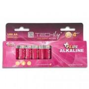 Techly Blister 12 Batterie Power Plus Stilo AA Alcaline LR06 1,5V
