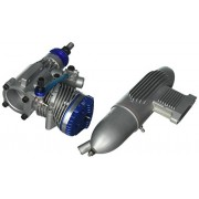 Evolution Engines .61NX Glow Engine with Muffler