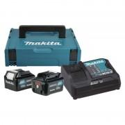 LXT set u koferu Makpac 1,BL1020B x 2kom + DC10SA PUNJAC