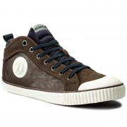 Кецове PEPE JEANS - Industry Sock PMS30373 Dk Brown 898