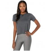 New Balance Impact Run Mesh Short Sleeve Black Heather