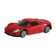 RMZ 918 Porsche Spyder, Red/Gray (3-inch)