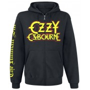 Ozzy Osbourne Ultimate Sin Herren-Kapuzenjacke - Offizielles Merchandise S, M, XL, XXL Herren