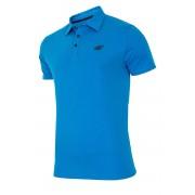 Мъжка фланела с якичка 4F Blue 100% памук