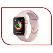 Умные часы APPLE Watch Series 3 42mm Gold with Pink Sand Sport Band MQL22RU/A