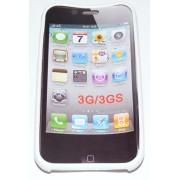 Силиконов гръб ТПУ за Apple iPhone 3G/3GS Бял