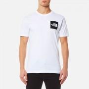 The North Face Men's Short Sleeve Fine T-Shirt - TNF White/TNF Black - XL - White