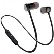 Deals e Unique Sports Bluetooth Headphone Magnet Wireless Earphone Headset Gym Running Outdoor(Multi-Color)