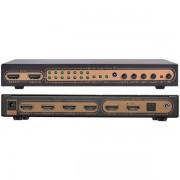 Matrix HDMI 4K ASK HDMX0006M1 6x2 Portas