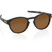 Oakley LATCH Oval Sunglass(Brown)